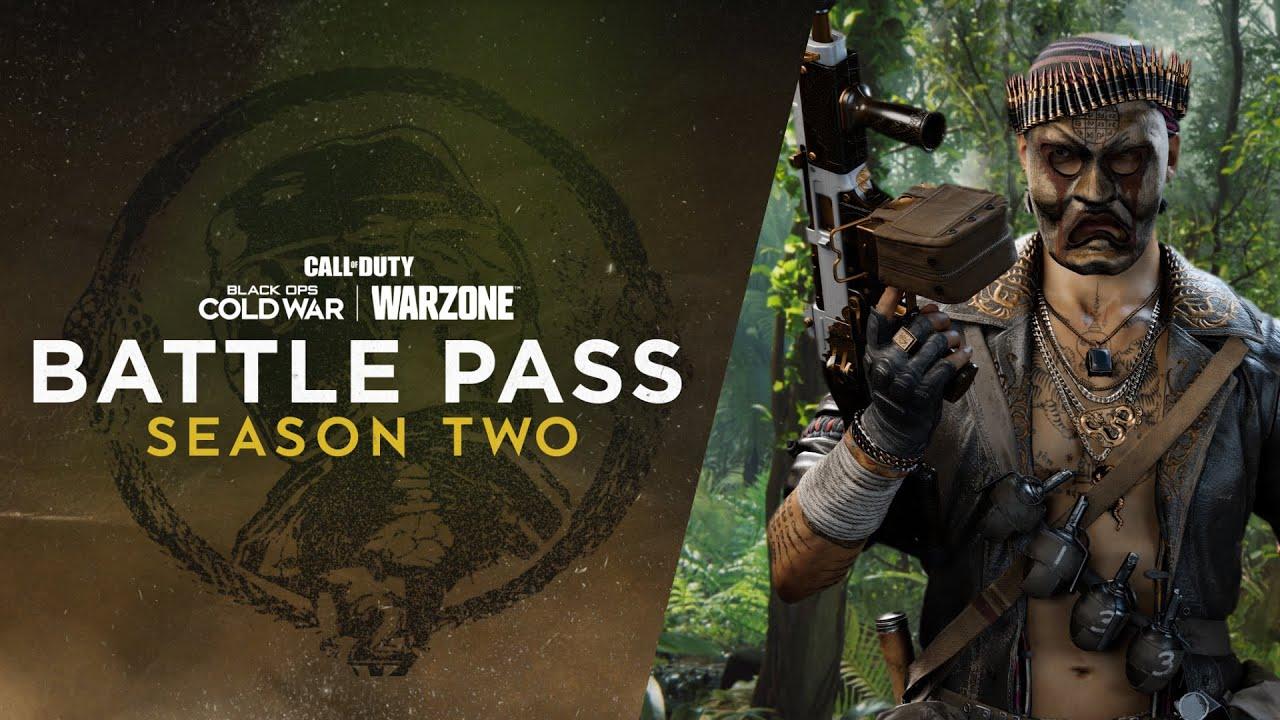 Black Ops Cold War Season 2 Battle Pass