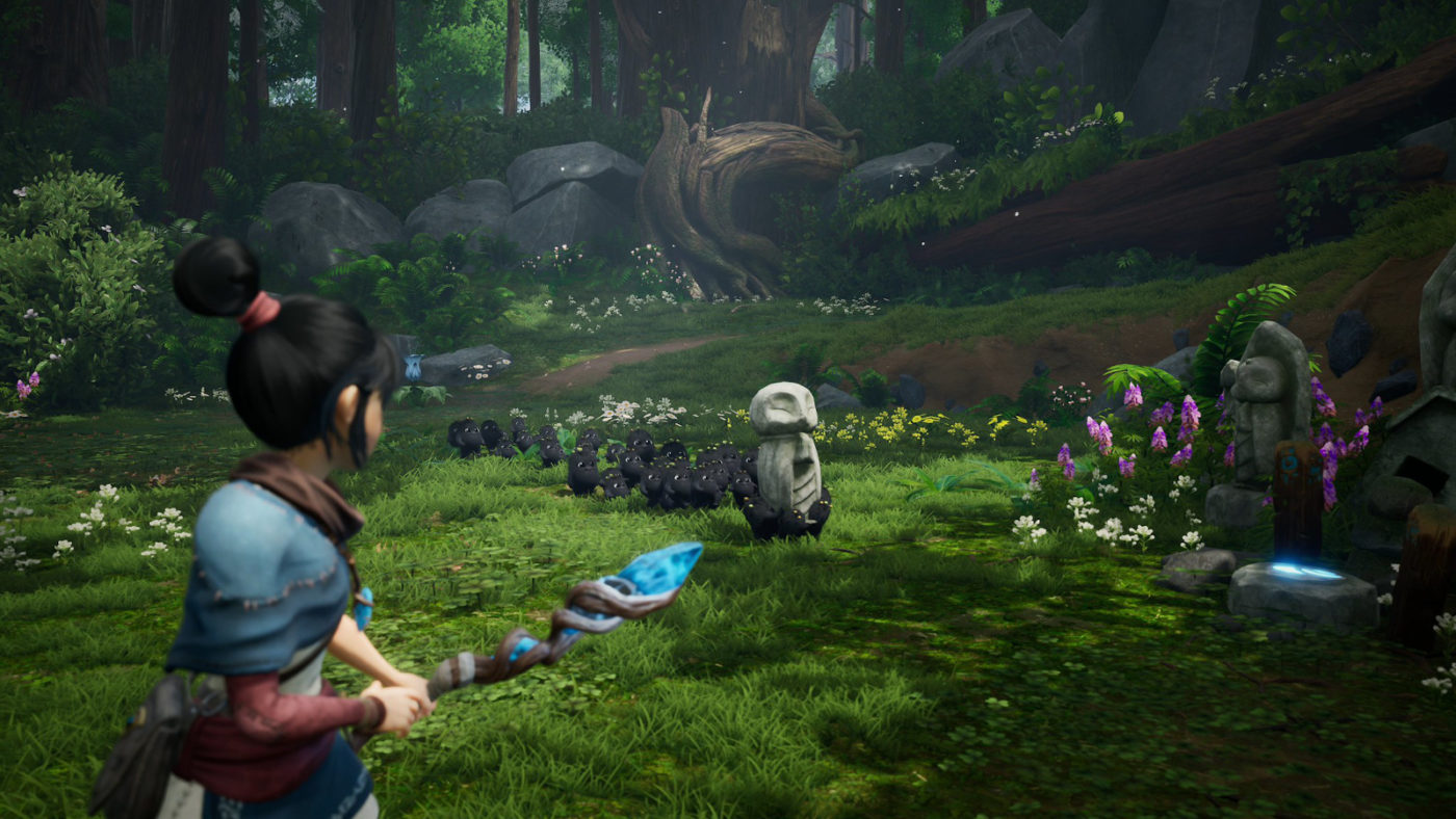 Kena Bridge of Spirits New Gameplay