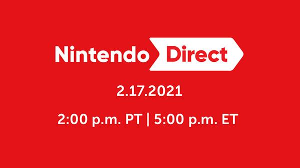 Nintendo Direct February 17 Stream