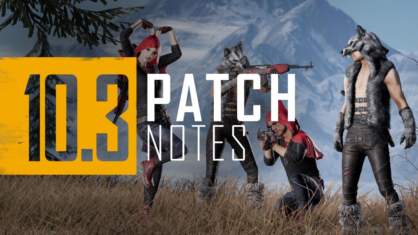 PlayerUnknown's Battlegrounds Update 1.61 February 23