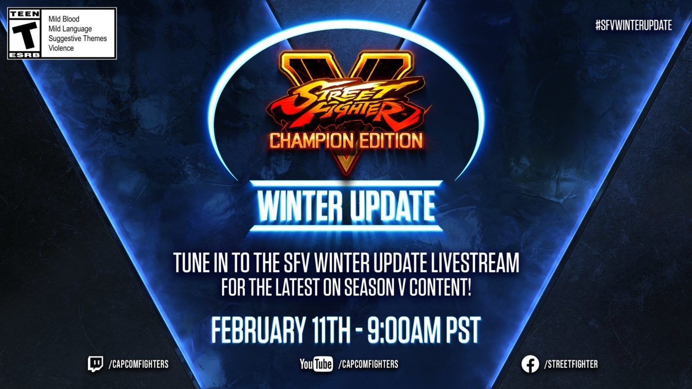 Street Fighter 5 Winter Update