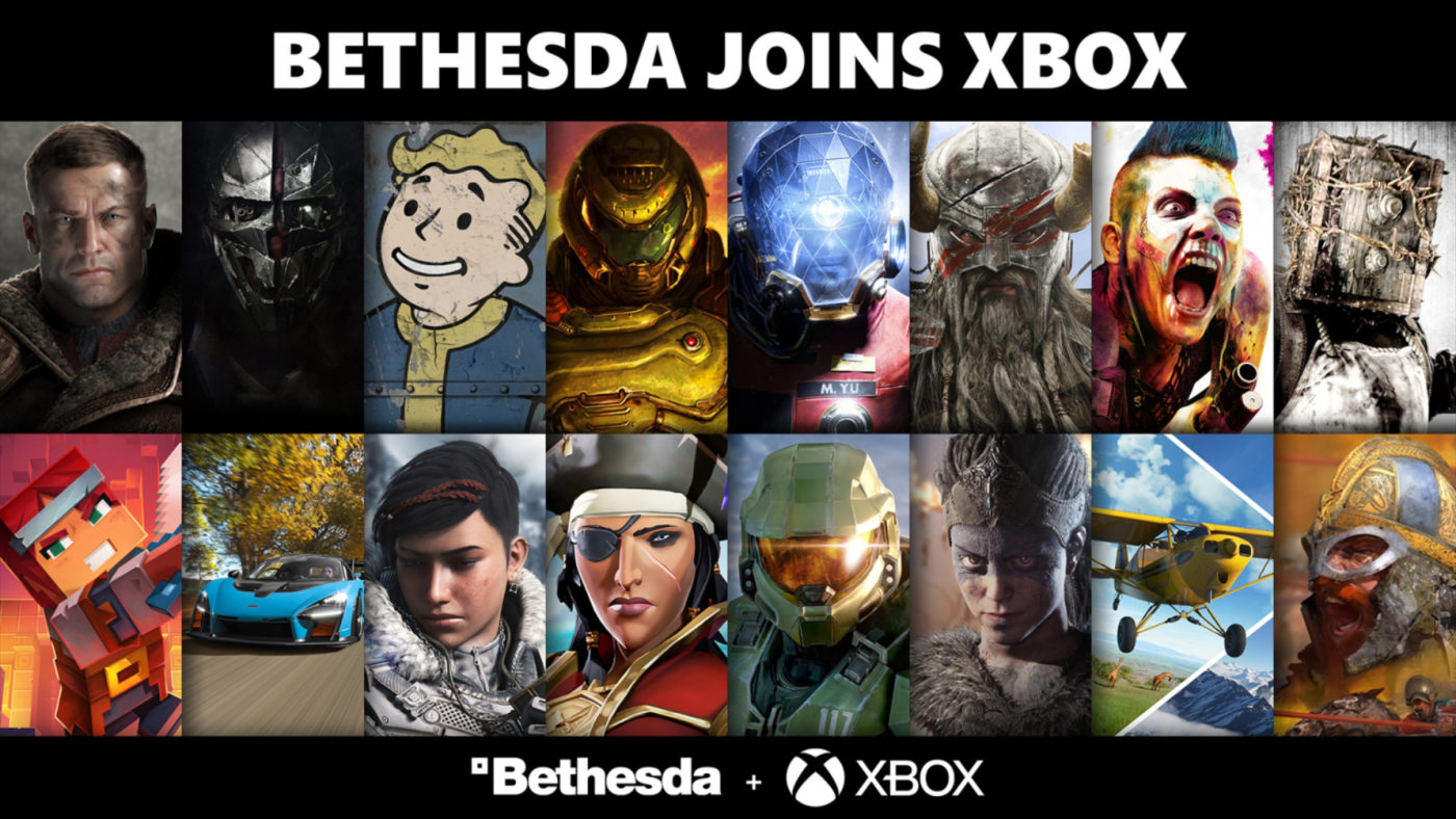 Bethesda Games Coming to Game Pass