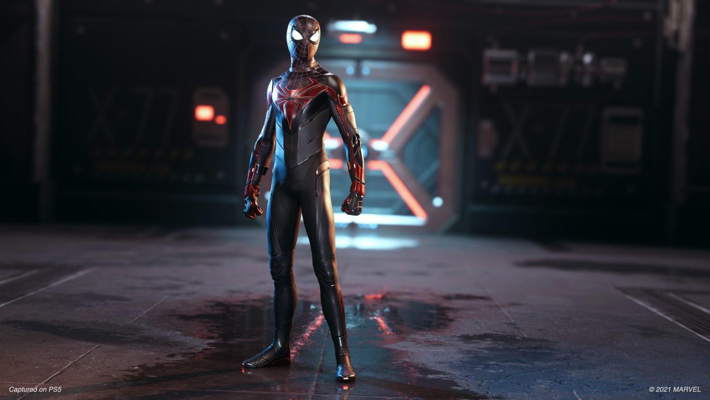 Marvel's Spider-Man Miles Morales Track Update 1.09 Suit Image (2)