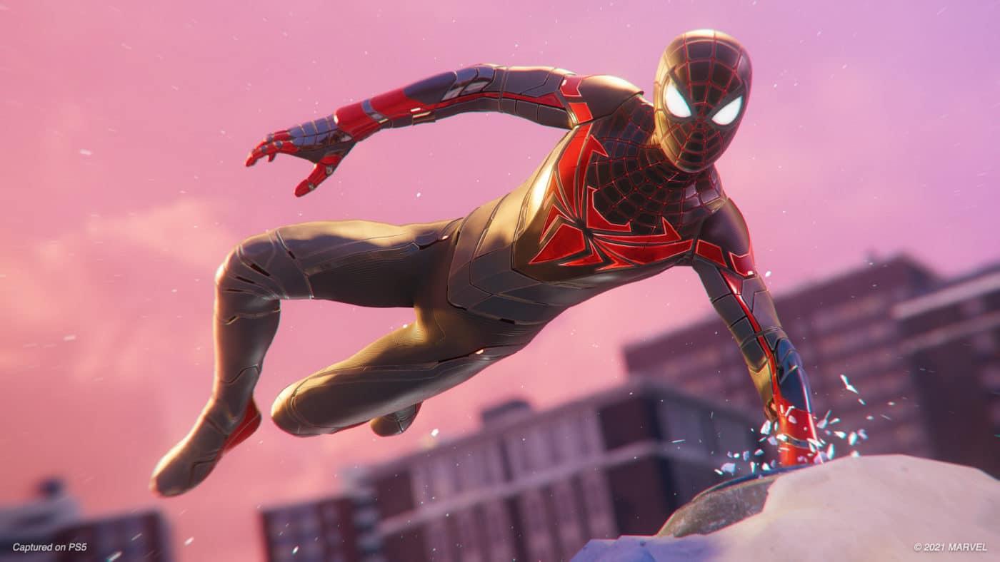 Marvel's Spider-Man Miles Morales Track Suit image