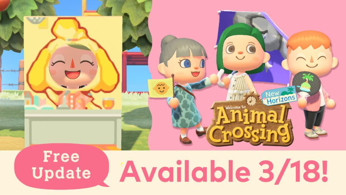 Animal Crossing: New Horizons Upcoming Update