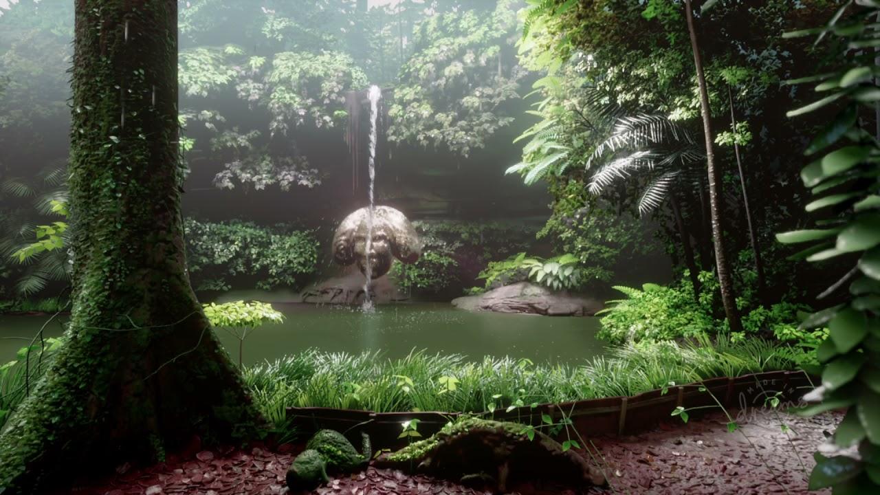 dreams ps5 waterfall