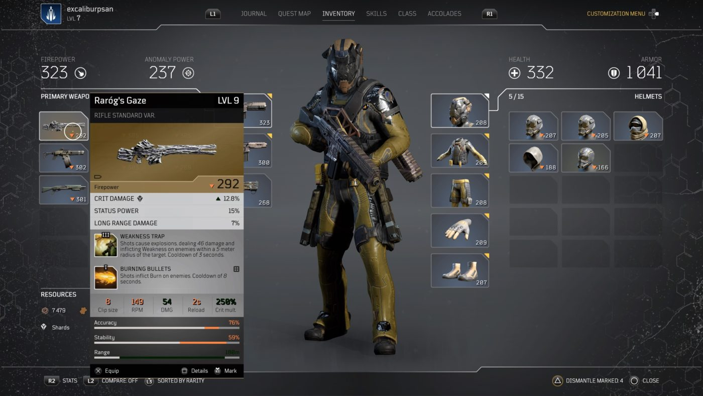 Outriders Inventory Wipe Restoration
