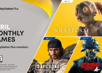 PlayStation Plus April Free Games