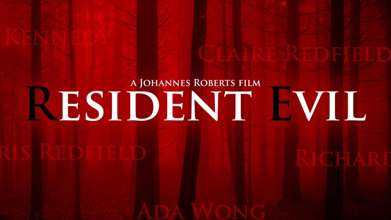 Resident Evil Movie Reboot Poster