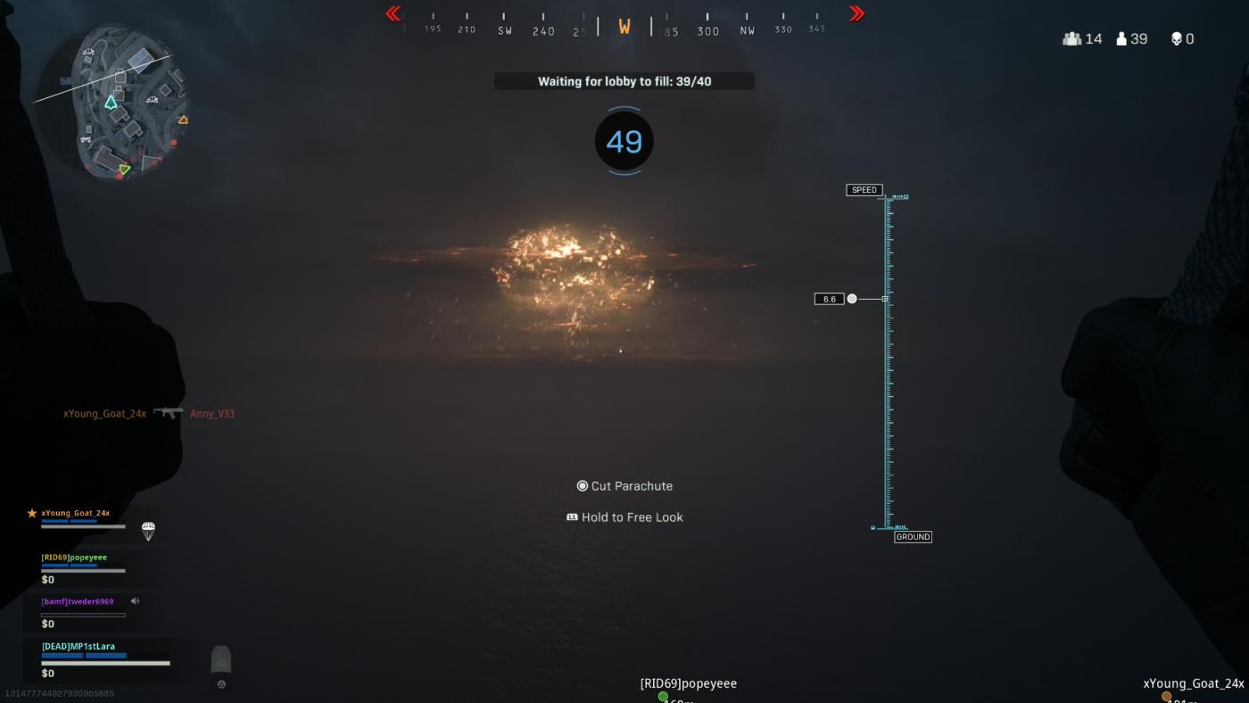 Call of Duty Warzone Rebirth Island Nighttime