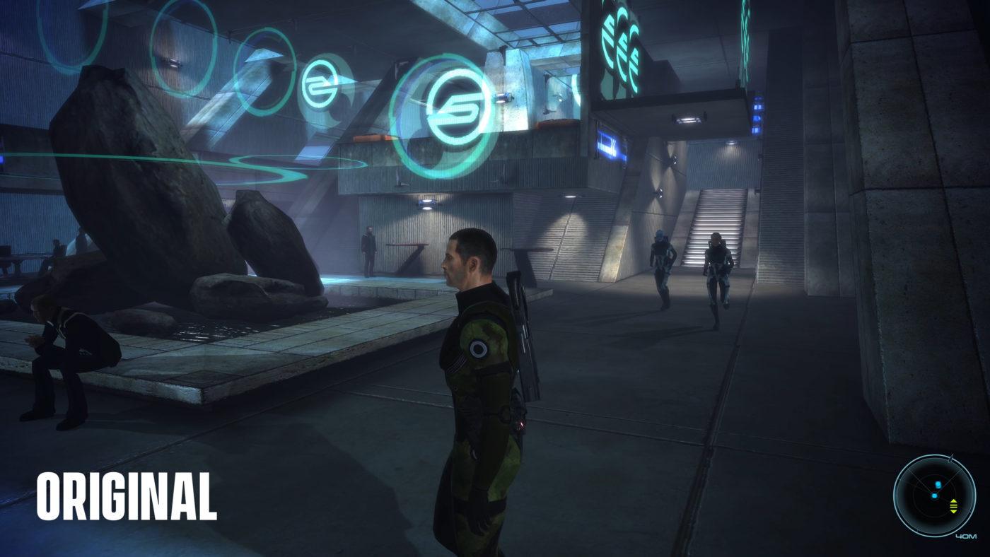 Mass Effect Legendary Edition Comparison images (10)