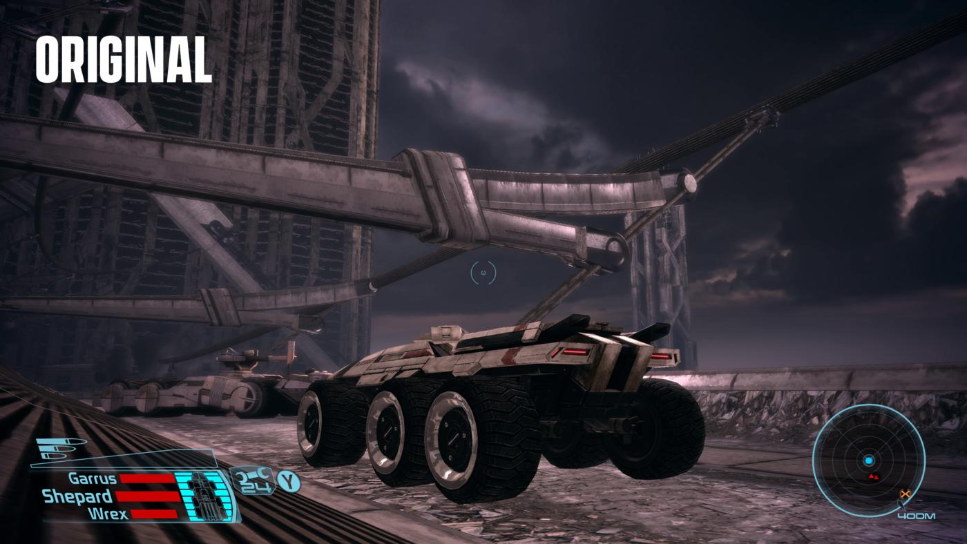 Mass Effect Legendary Edition Comparison images (2)