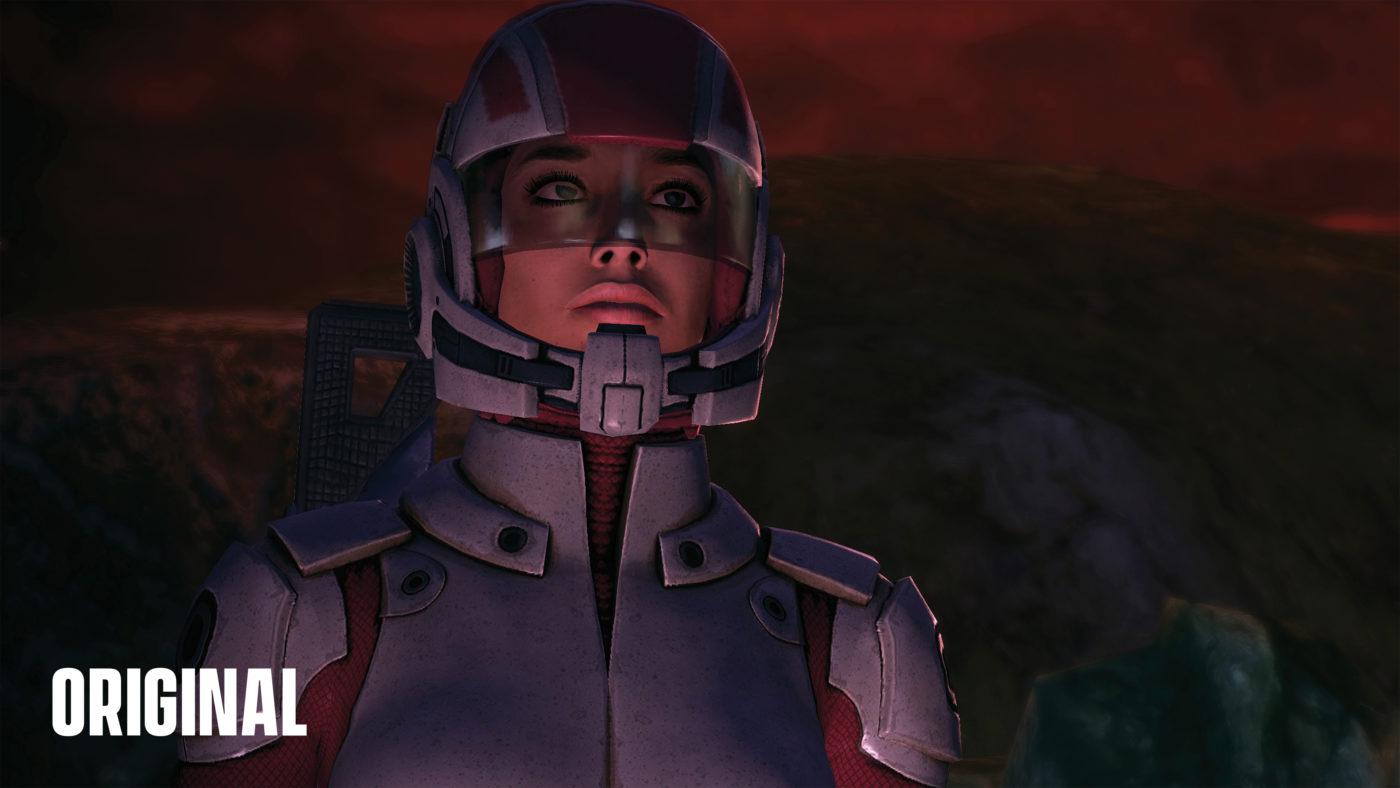 Mass Effect Legendary Edition Comparison images (4)