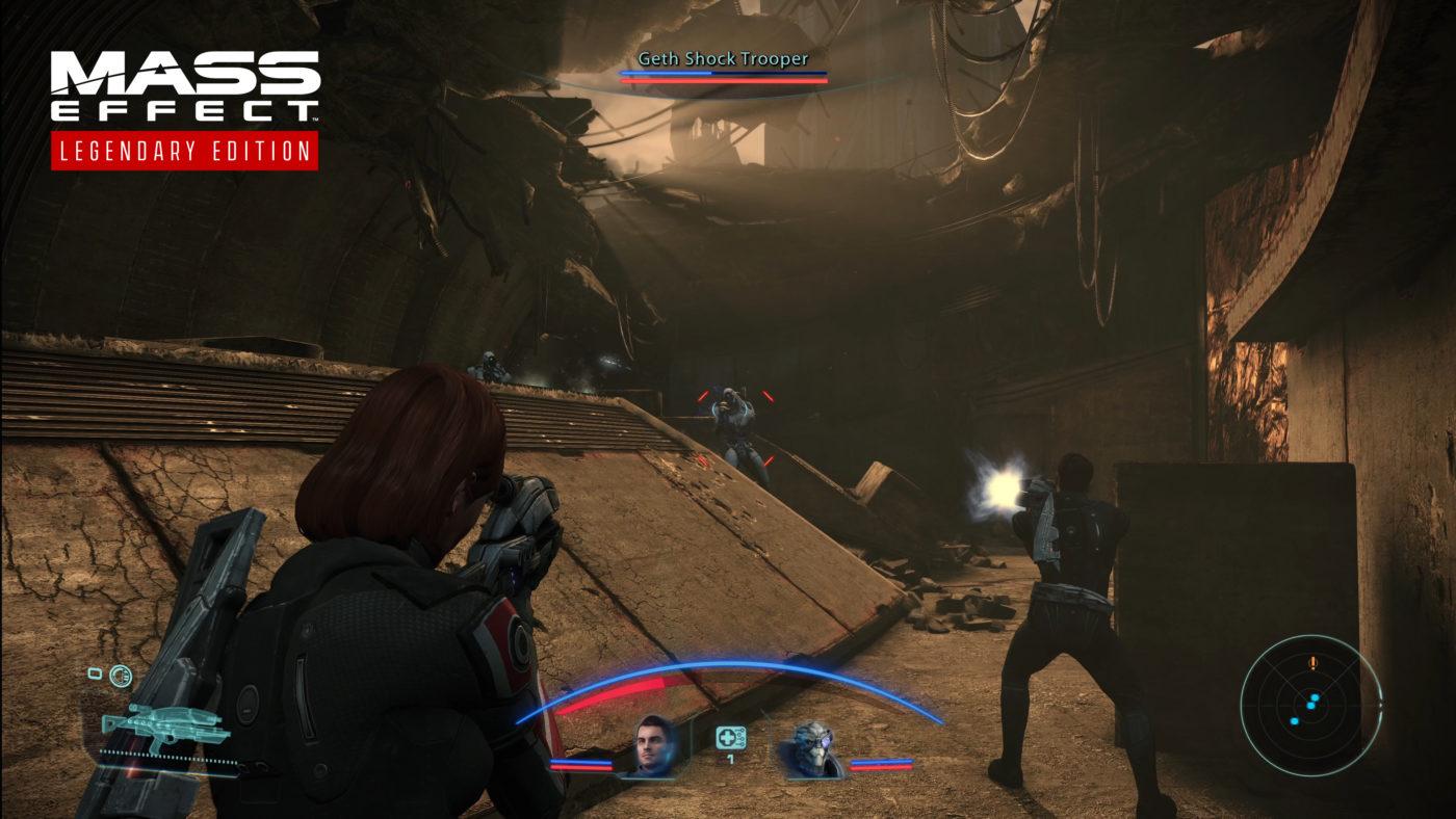 Mass Effect Legendary Edition Comparison images (5)