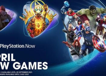 PlayStation Now April