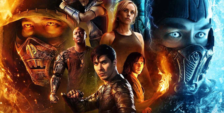 Mortal Kombat Movie IMAX poster