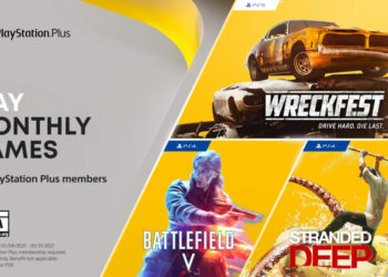 PS Plus May Free Games