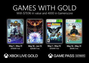 Xbox Games With Gold for May 2021