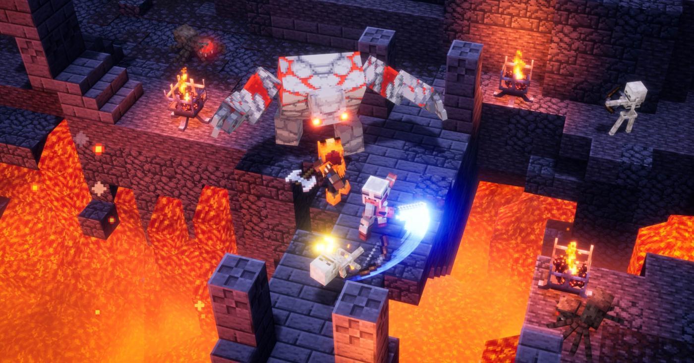 Minecraft Dungeons Update 1.15