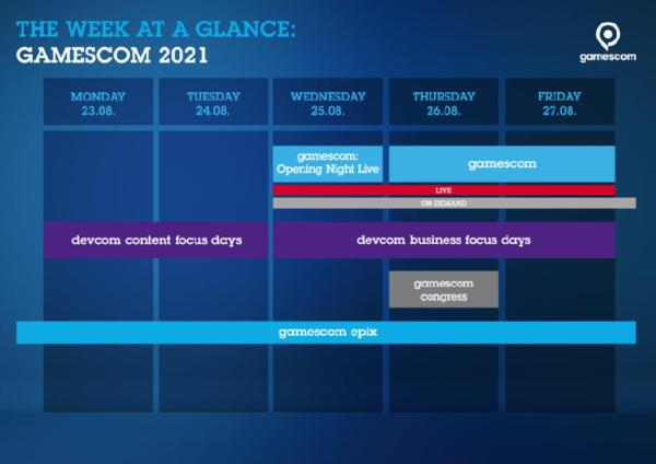 Gamescom 2021 Digital