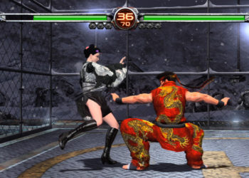 Virtua Fighter 5 Ultimate Showdown Gameplay
