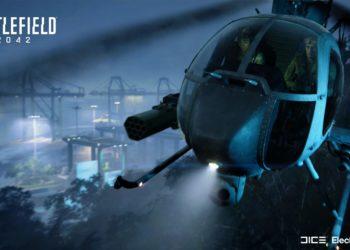 Battlefield 2042 heli gameplay