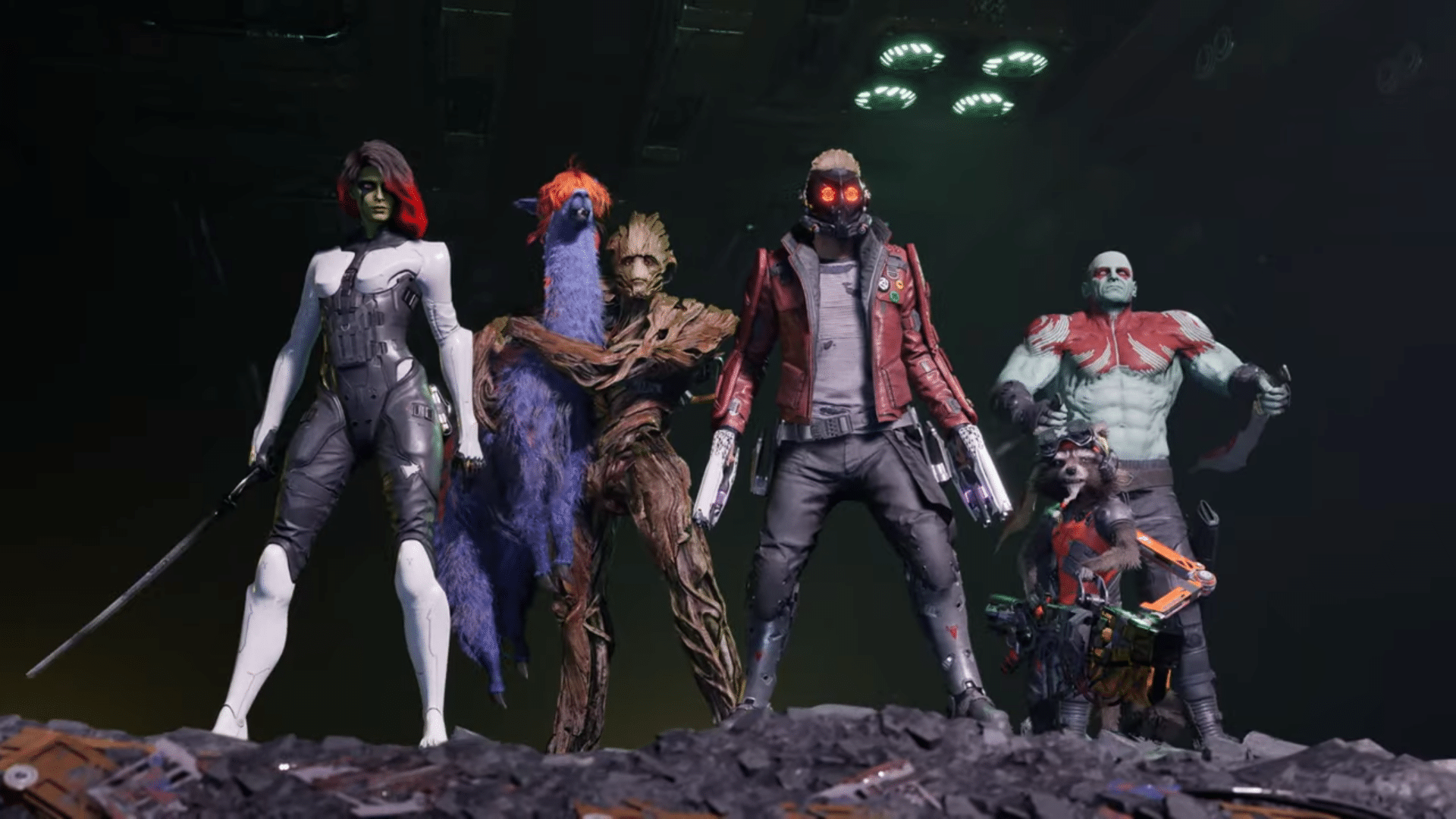 Guardians of the Galaxy The Game