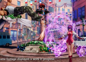 King of Fighters XV Athena