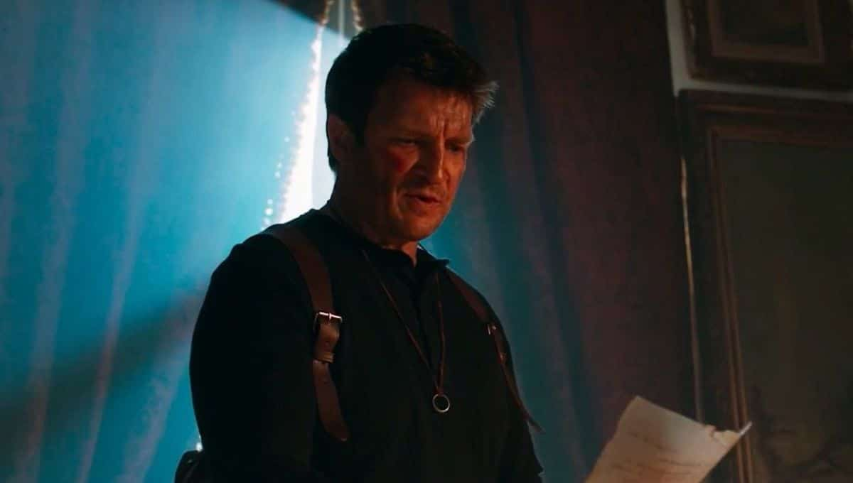 Nathan Fillion Uncharted Movie