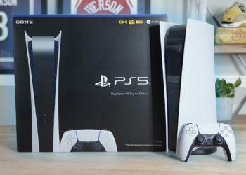 New PS5 Digital Version