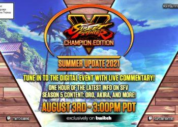 Street Fighter 5 Summer Update 2021