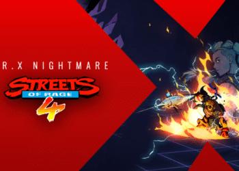 Streets of Rage 4 Mr. X Nightmare DLC Release Date
