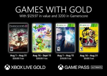 Xbox Free Games With Gold August