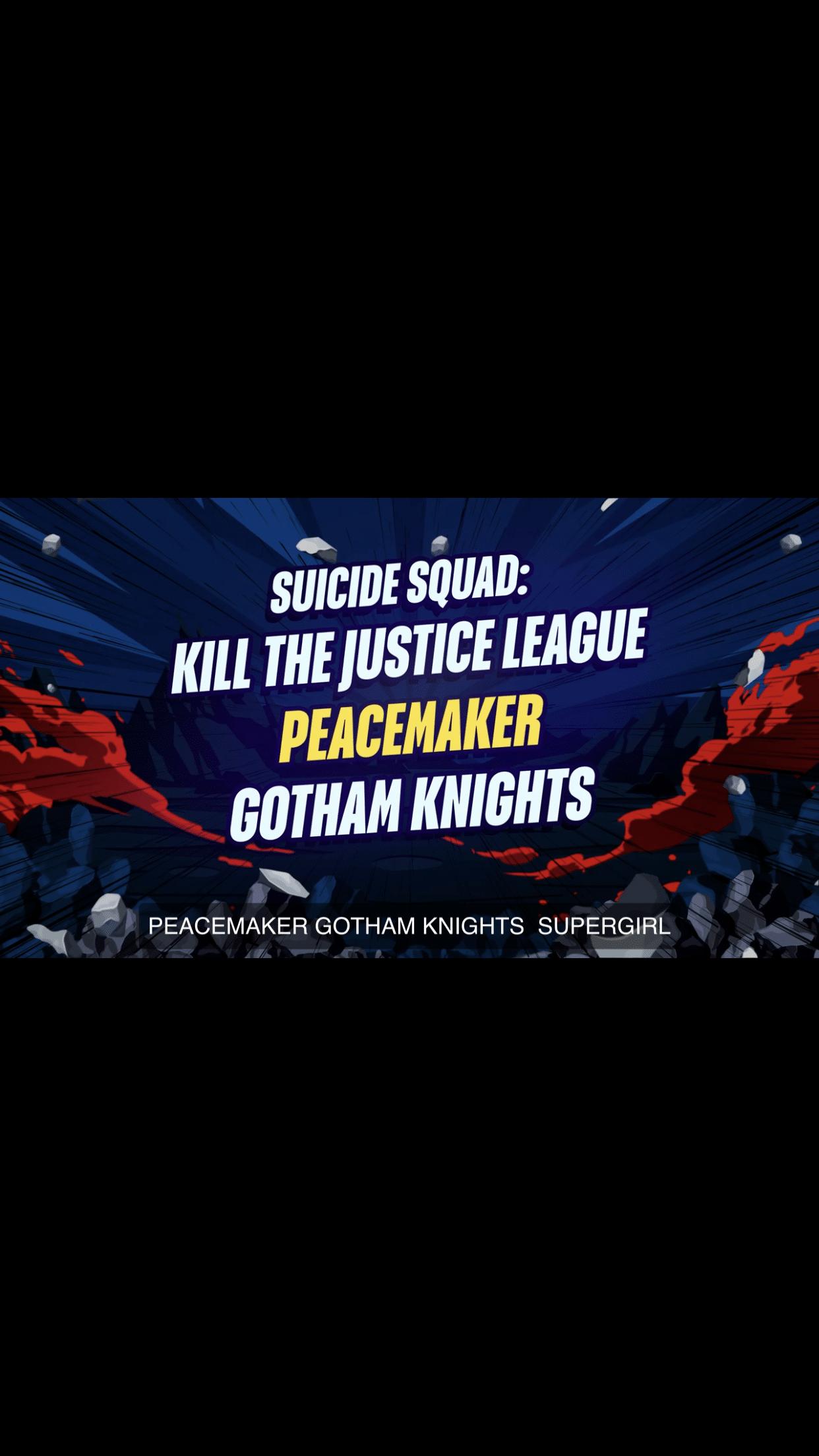 Suicide squad kill the justice league DC FanDome