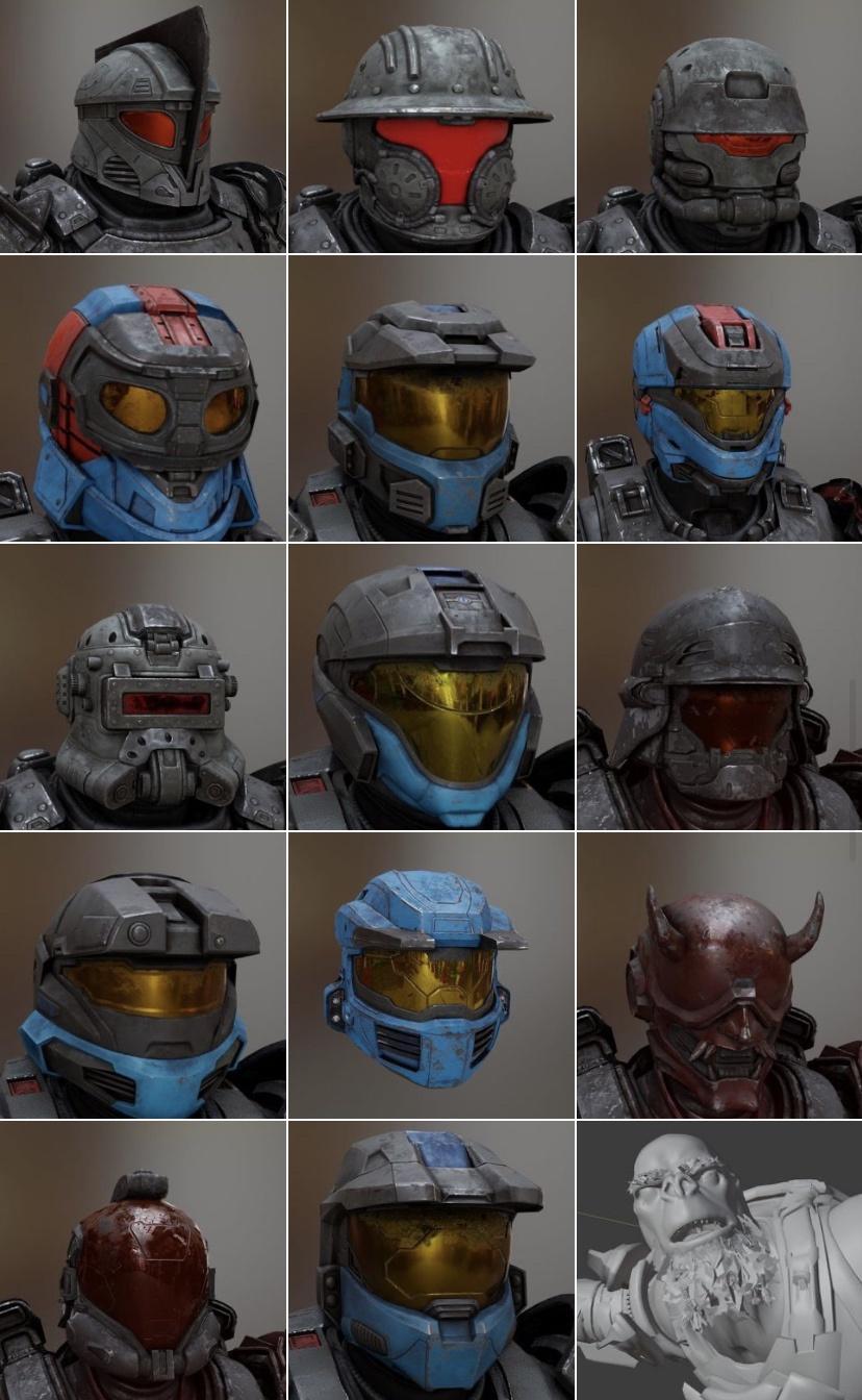 Halo Infinite helmet