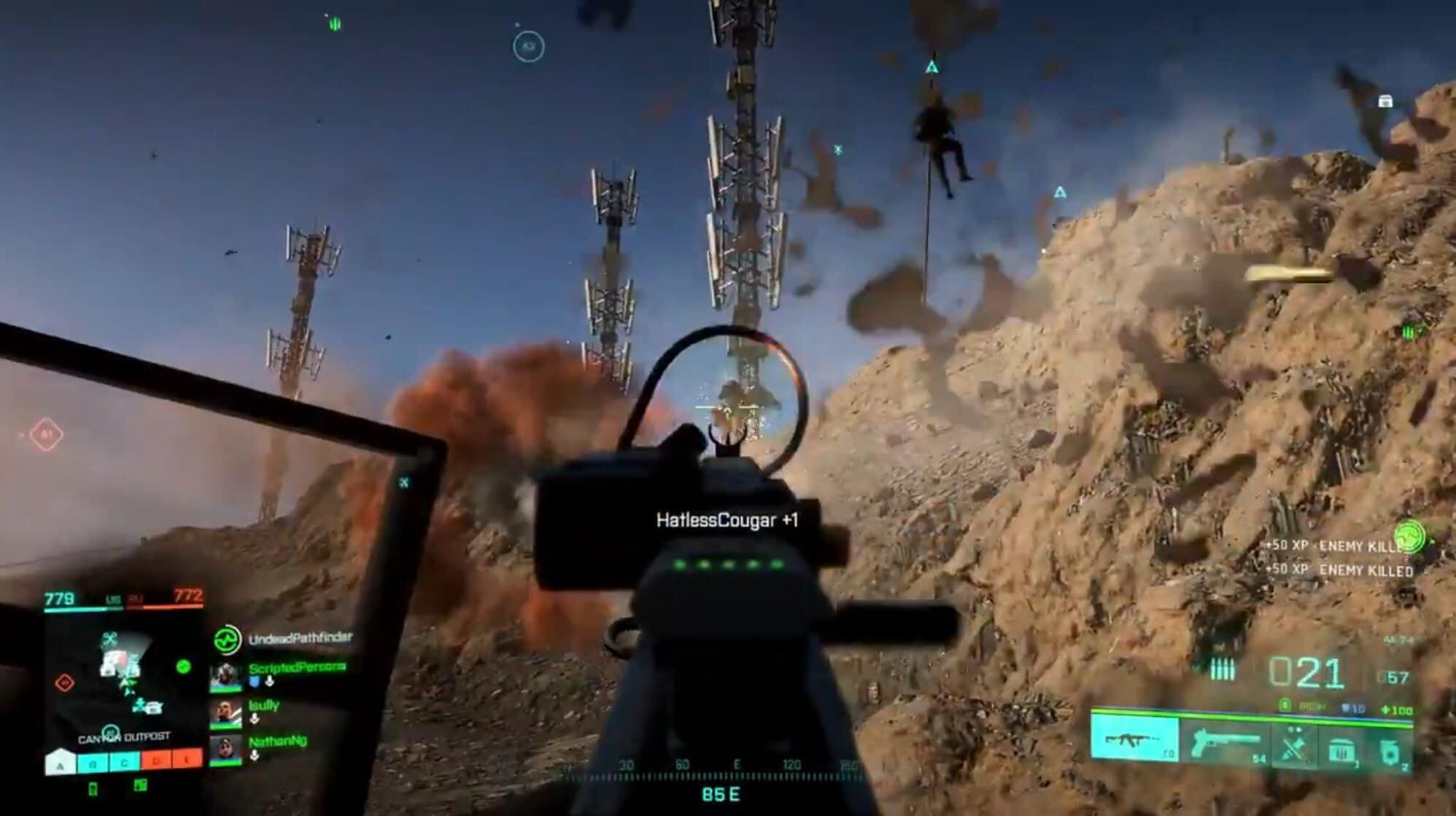 Battlefield 2042 Killfeed