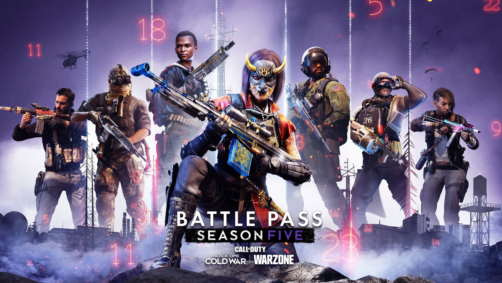 Warzone Season 5 Battle Pass