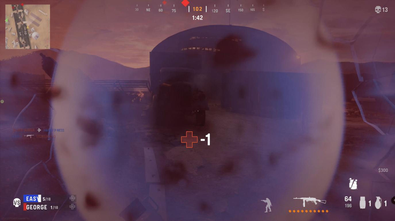 cod vanguard player visibility