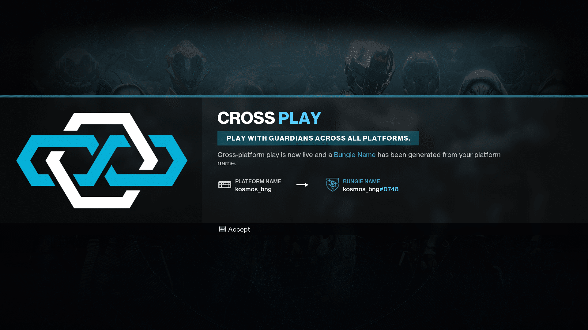 Destiny 2 Crossplay Overview