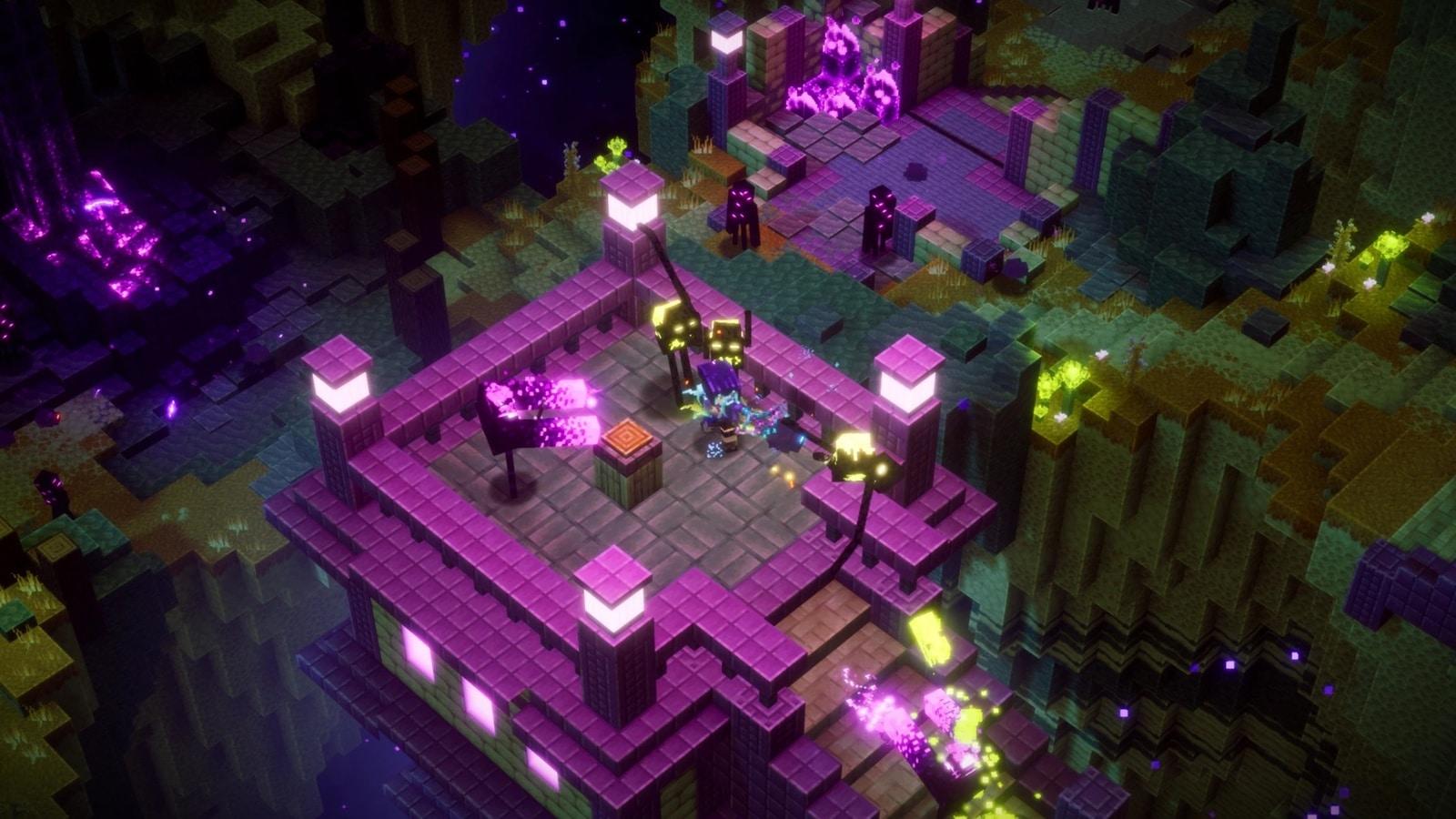 minecraft dungeons update 1.20