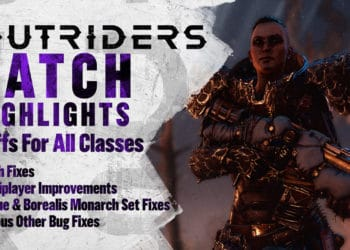 Outriders Update 1.012