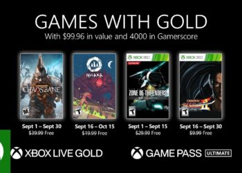 Xbox Games With Gold September Free Games