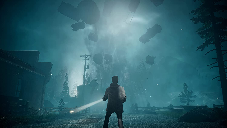 Alan Wake Remastered PS5 File Size
