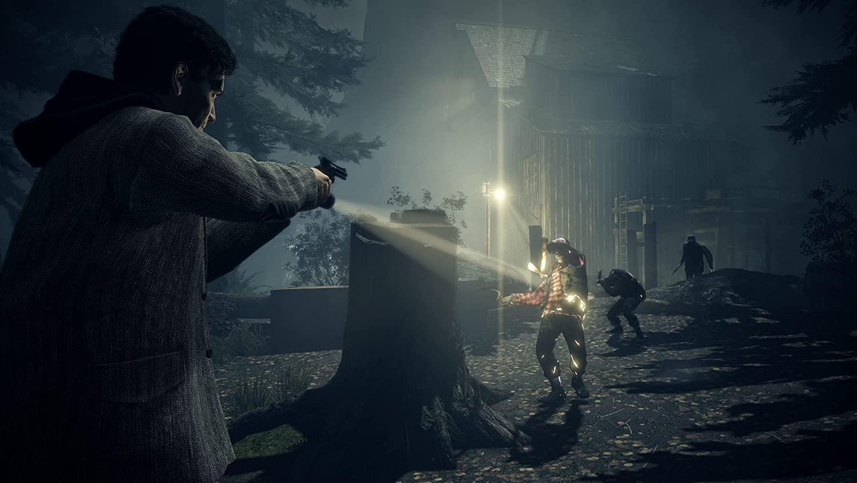 Alan Wake Remastered Comparison Trailer