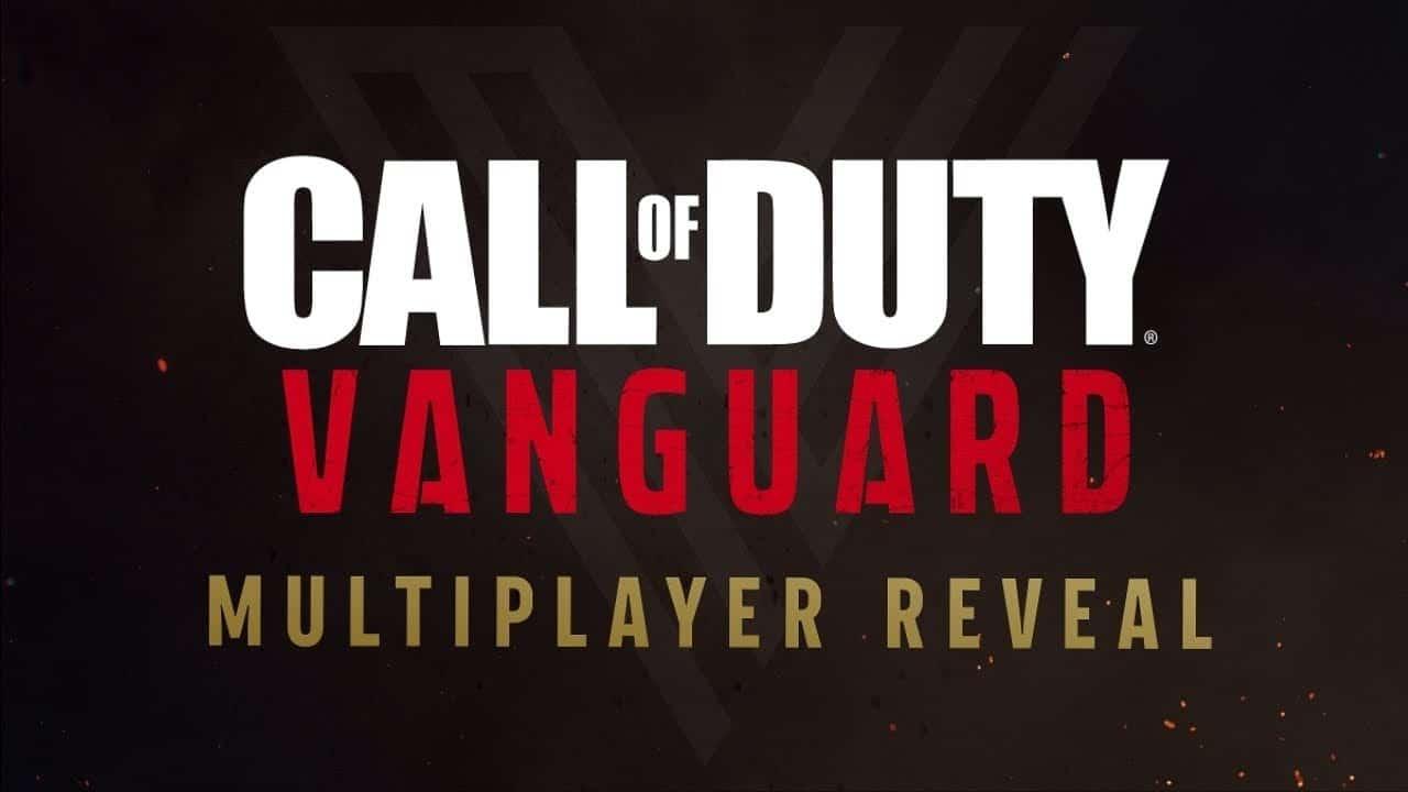 COD Vanguard Multiplayer Reveal Stream