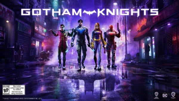 Gotham Knights Key Art