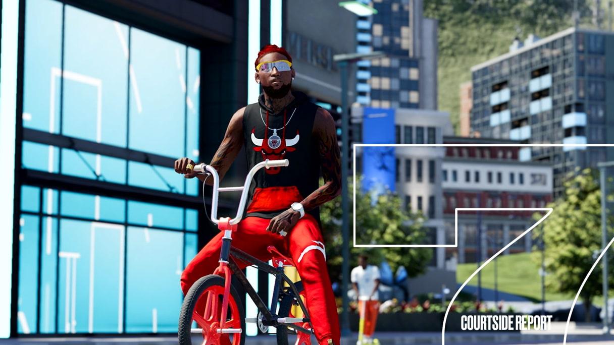NBA 2K22 The City