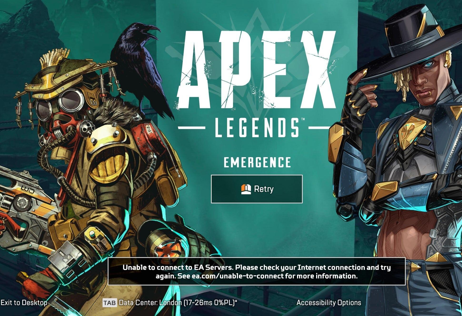 Apex Legends Down