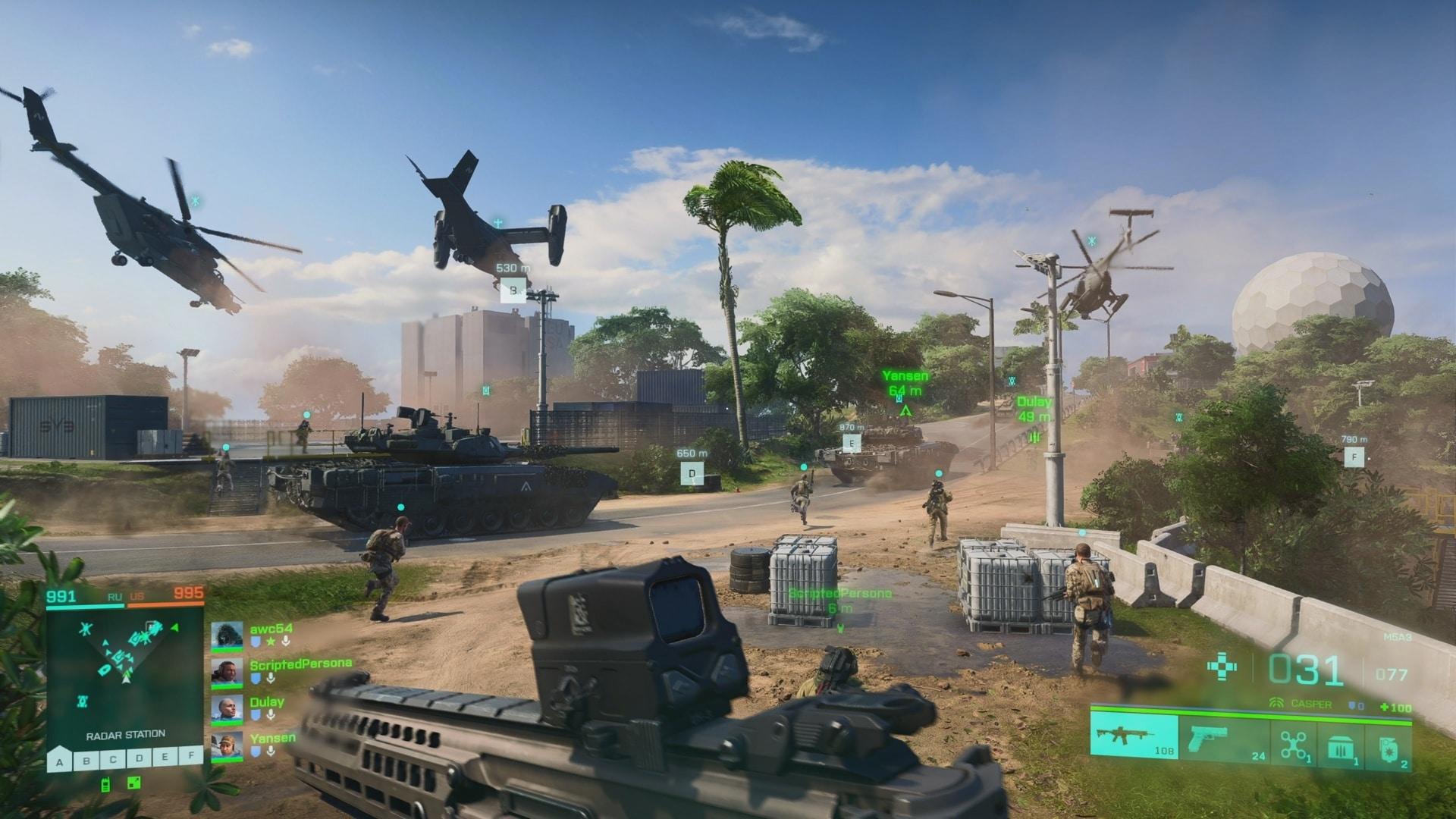 Battlefield 2042 Beta Survey