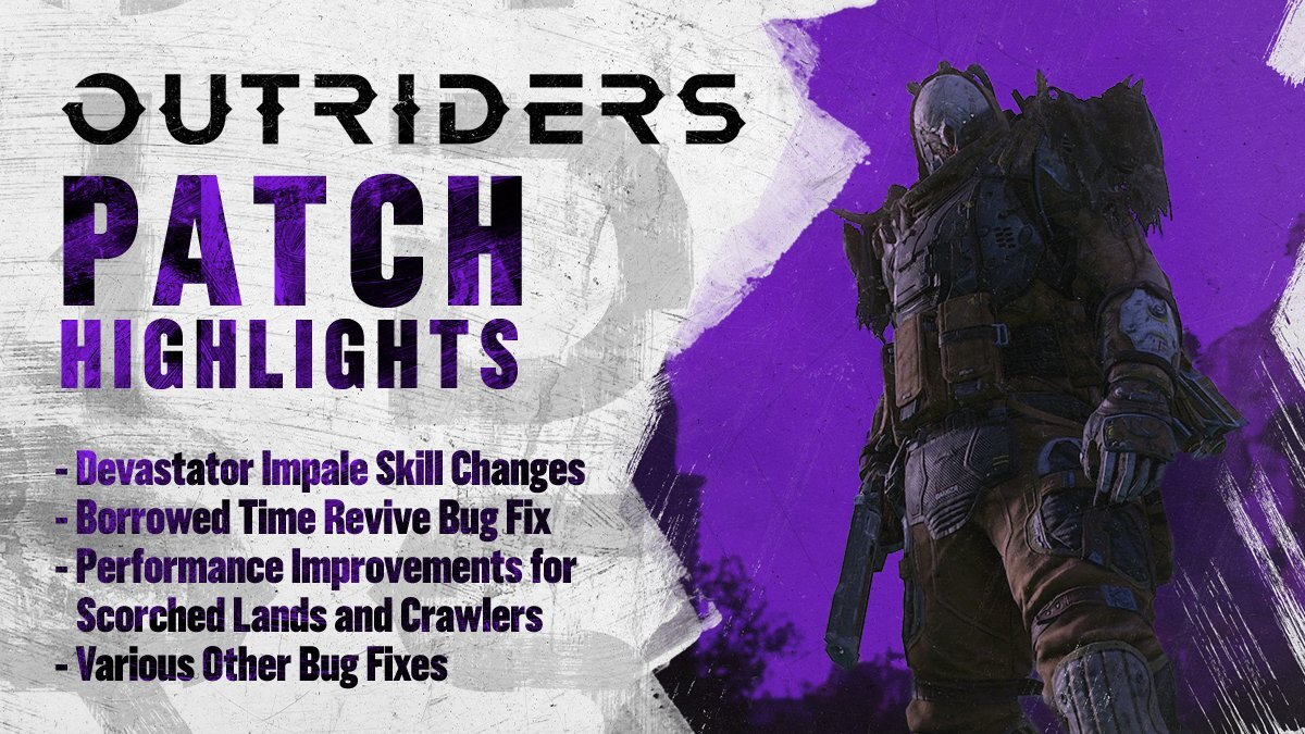 Outriders Update Patch Notes
